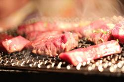 Japanese black hide heifer beef.Japanese BBQ assortment (5 varieties)