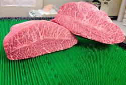 Misuji is a rare cut of Japanese black hide beef from Miyazaki.