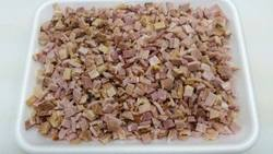 Roast pork: diced for fried rice