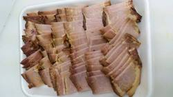 Roast pork: cut for pork char siu ramen